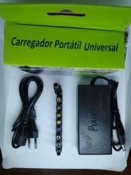 Fonte carregador universal Notebook Adaptador 120w