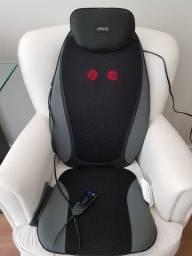 Assento massageador  Homedics Shiatsu Elite + massageador shiatsu pés