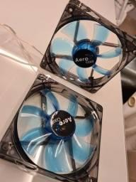 Cooler aerocool 120mm LED azul
