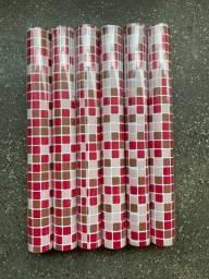 Título do anúncio: Aproveite que temos papel adesivo parede com estampa de pastilha pra cozinha