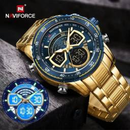 Título do anúncio: Relógio Masculino Naviforce 9189 Original