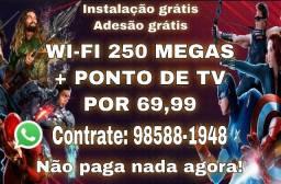 Título do anúncio: FIBRA ÓTICA WI-FI PARA TODA MANAUS