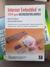 Livro usado engenharia - Internet Embedded - Tci/ip para Microcontroladores<br><br>