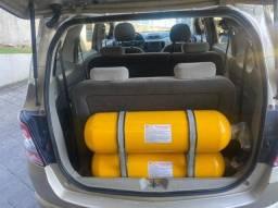 GM - Chevrolet Spin 1.8 LTZ 2013 7 Lugares com GNV