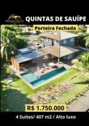 Título do anúncio: Casa de condomínio sobrado para venda com 407 metros quadrados com 4 quartos