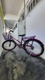 Título do anúncio: Bicicleta Infantil Aro 24 - seminova