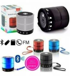 Mini Caixa de Som Portátil Bluetooth WS-887