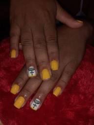 Manicure, Pedicure Alongamento de Unhas