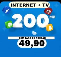 Internet fibra residencial  sem por cento rapida