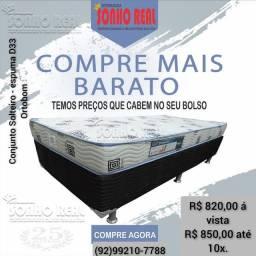Título do anúncio: Conj Solteiro Ortobom D33