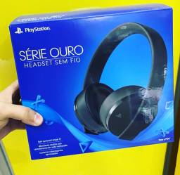 Headphone Playstation Gold 7.1