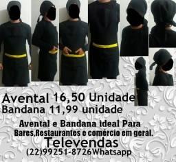 Avental bandana tecido Padrão profissional Vendas atacado promoção
