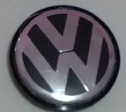 Calota central roda original VW Jetta Amarok Passat Tiguan e touareg com 65mm