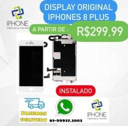 Título do anúncio: Display IPhone 7 Plus / 8 Plus Original  Apple (Instalado )