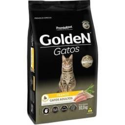 10kg Ração Golden Gatos Adultos - Sabor Frango
