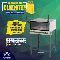 Título do anúncio: Forno refratário Progas a gás PRP770 kg Novo Frete Grátis
