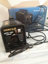 Título do anúncio:  Vendo transformador de solda novo mts 150 Schulz