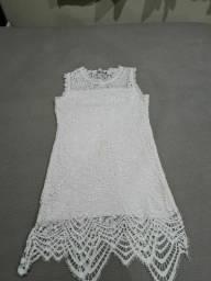 Título do anúncio: Vestido branco Tam M