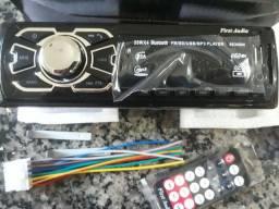 Radio automotivo usb novo mp3 bluetooth