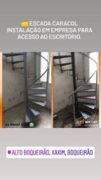 Título do anúncio: Escada caracol, escada metálica  , escada Ferro.