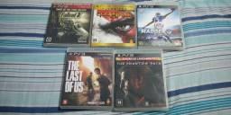 Coleção de jogos para PS3 (Precos avulsos na descrição)