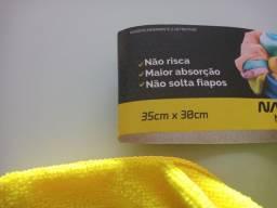 Título do anúncio: Kit com 5 panos microfibra multiuso