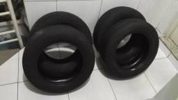 4 pneus meia-vida Pirelli - Aro 14