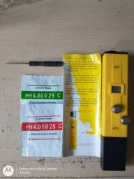 Novo c/NF. Medidor ph digital, nutrientes remo trio (grow, micro, Bloom)