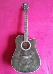 violão folk elétrico Phoenix
