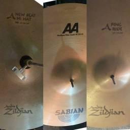Título do anúncio: Pratos Zildjan /Sabiam