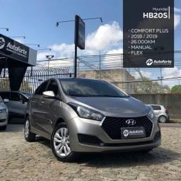 Título do anúncio: Hyundai HB20S 1.0 Comfort Plus 2019 R$59.990