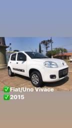 Título do anúncio: Fiat /Uno Vivace 1.0 - 2015