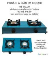 Título do anúncio: Fogão 2 bocas resistente à gás novo Lacrado!