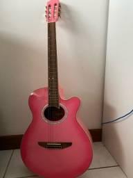 Violão Tagima Pink eletroacústico com afinador eletrico NOVO