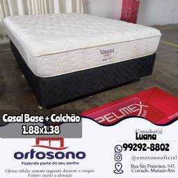 Título do anúncio: Cama cama casal base +Colchão
