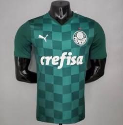camisa edição jogador palmeiras 1 verde 2021 / 2022