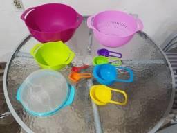 Lindo conjunto bowls com 10 peças Novo na caixa