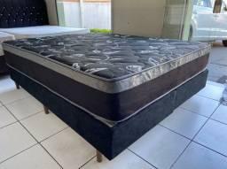 ALOE VERA  - cama box queen size  - ENTREGO