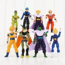 8 Bonecos Dragon Ball Z Articulados De Diversos Personagens