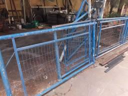 Grade de proteção reforçada 17 metros com portão