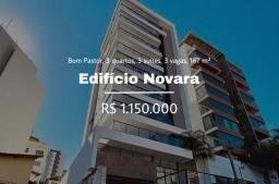 Título do anúncio: Apartamento com 167 m² com 3 quartos em Bom Pastor - Juiz de Fora  estuda aceitar imóveis