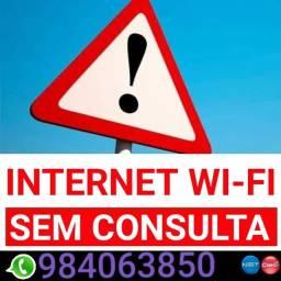 Internet não consultamos o SPC