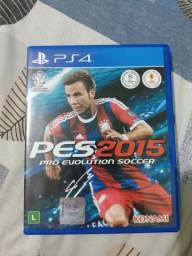 Título do anúncio: Jogo PES 2015 PS4.