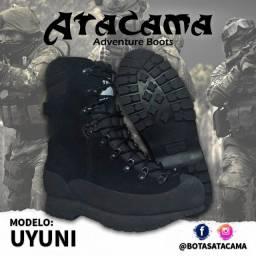 Título do anúncio: Coturno Tático Atacama em couro Camurça