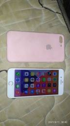 Título do anúncio: iPhone 8 plus 64g rose