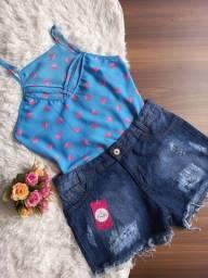 Título do anúncio: Blusas crepe promoção 5 por R$100