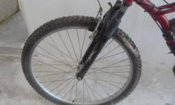 Vendo Bicicleta motorizada econômica gasolina