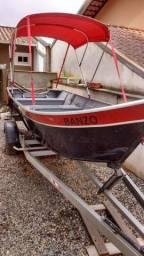 Título do anúncio: Barco-motor-carretinha rodoviária