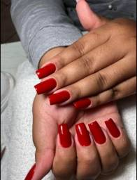 Título do anúncio: Unha De Gel, Acrygel, Fibra, Manicure