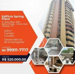 APARTAMENTO - Edifício Espring Place - BAIRRO ILHOTAS<br>